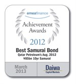201302 Emea Finance Best Samurai Bond