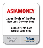201302 Asiamoney Best Local Currency Bond